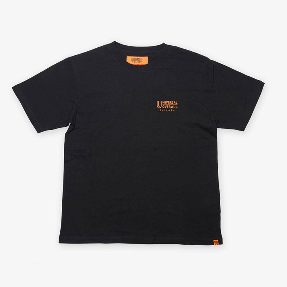 UNIVERSAL OVERALLUniversal Jr.Windy T(Black)20% Off
