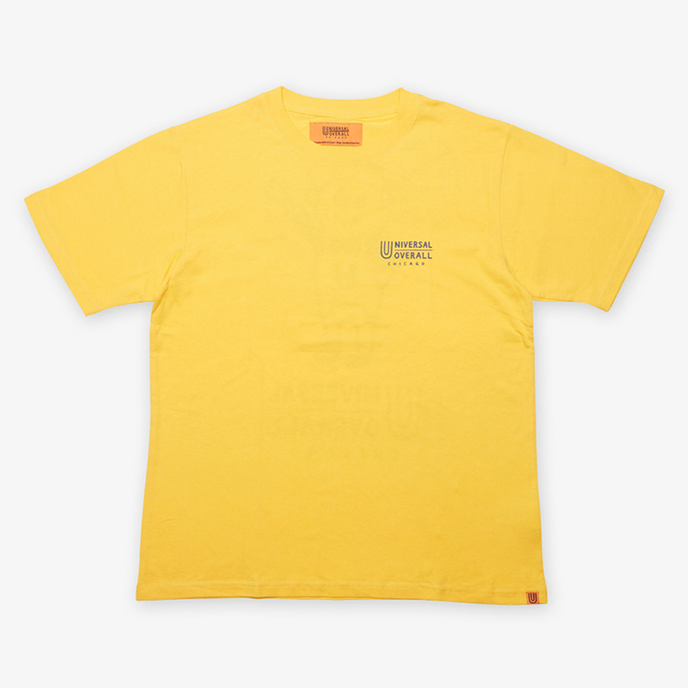 UNIVERSAL OVERALLUniversal Jr.Windy T(Yellow)20% Off