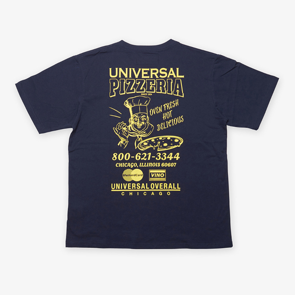 UNIVERSAL OVERALLUniversal Pizzaria T(Navy)20% Off
