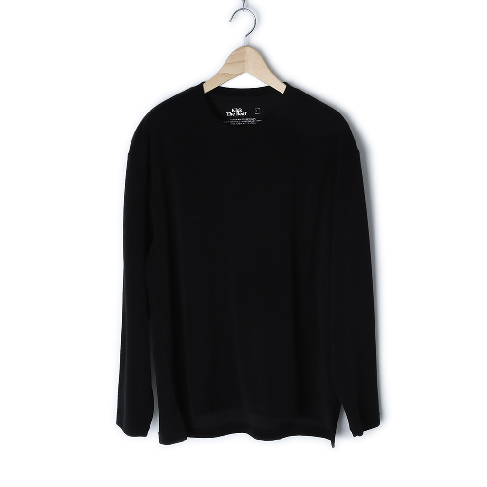 KICK THE BEATTerry Long Sleeve(Black)