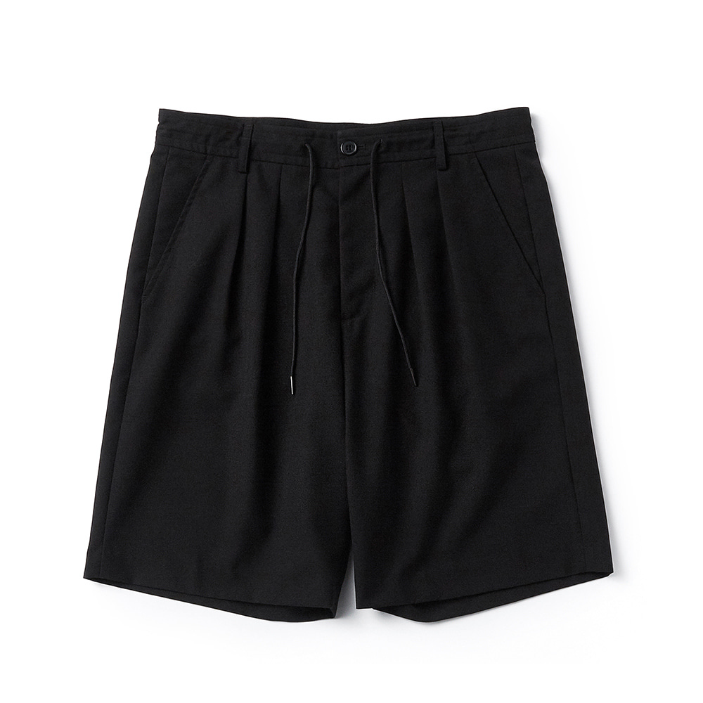 ESFAI2Tuck Wide Shorts(Black)