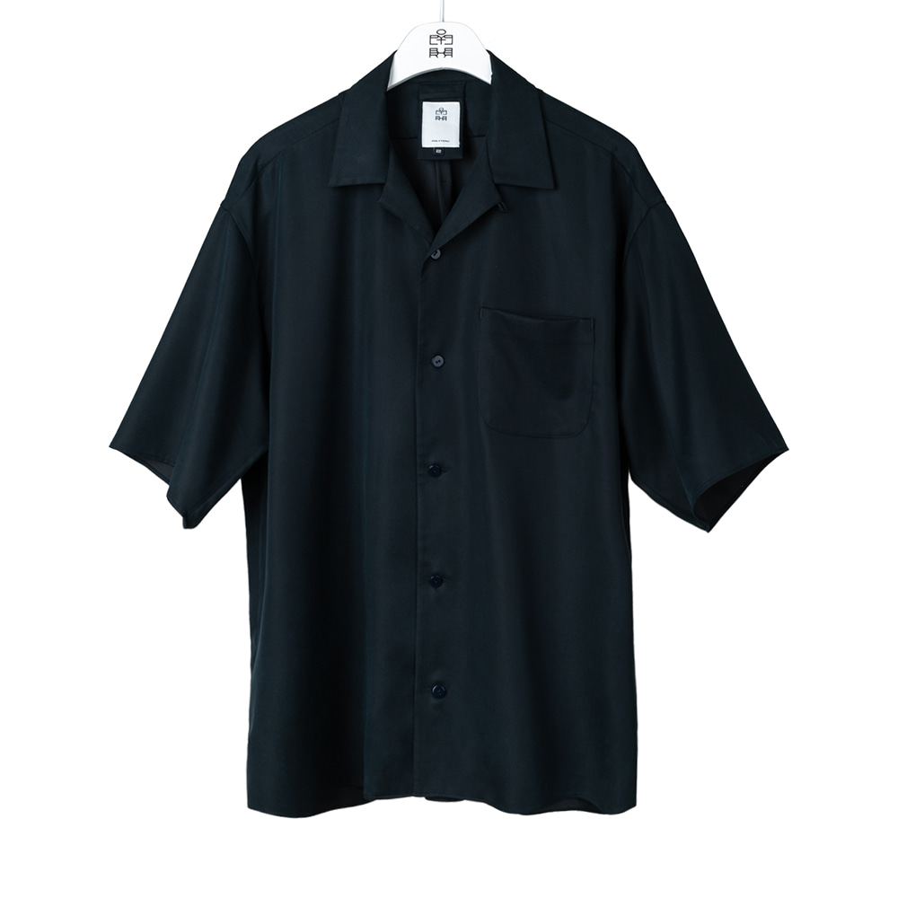 POLYTERU2020 Relaxed Shirts(Navy)