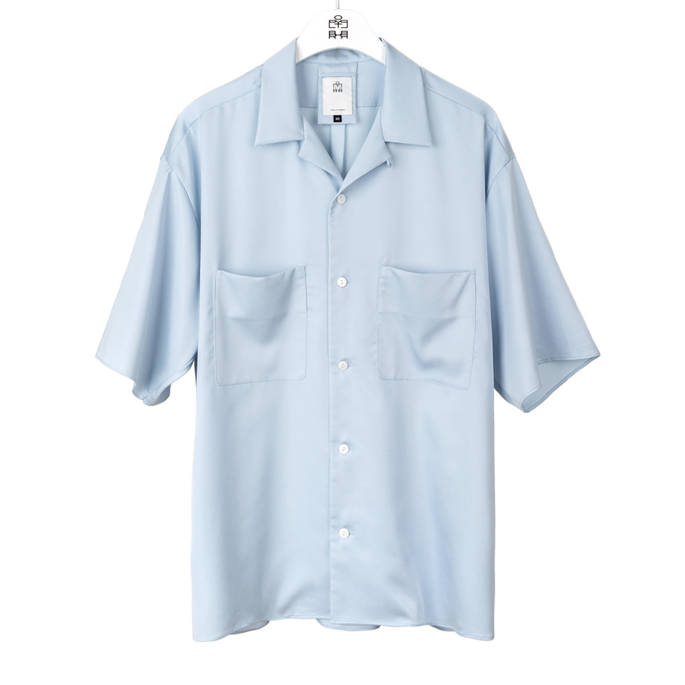 POLYTERU2020 Relaxed 2PK Shirts(Sky Blue)