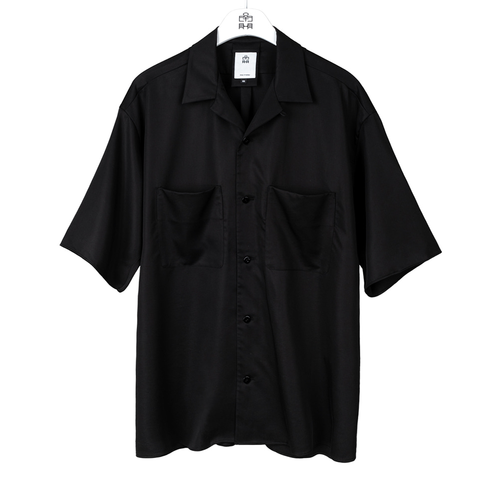 POLYTERU2020 Relaxed 2PK Shirts(Black)