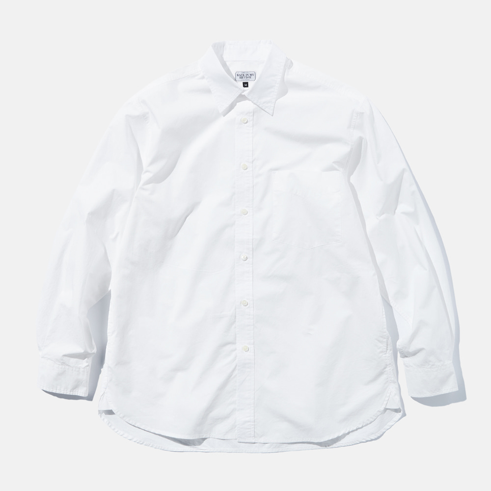 DEUTERODTR1933 90s My Heyday L/S Shirts(White)