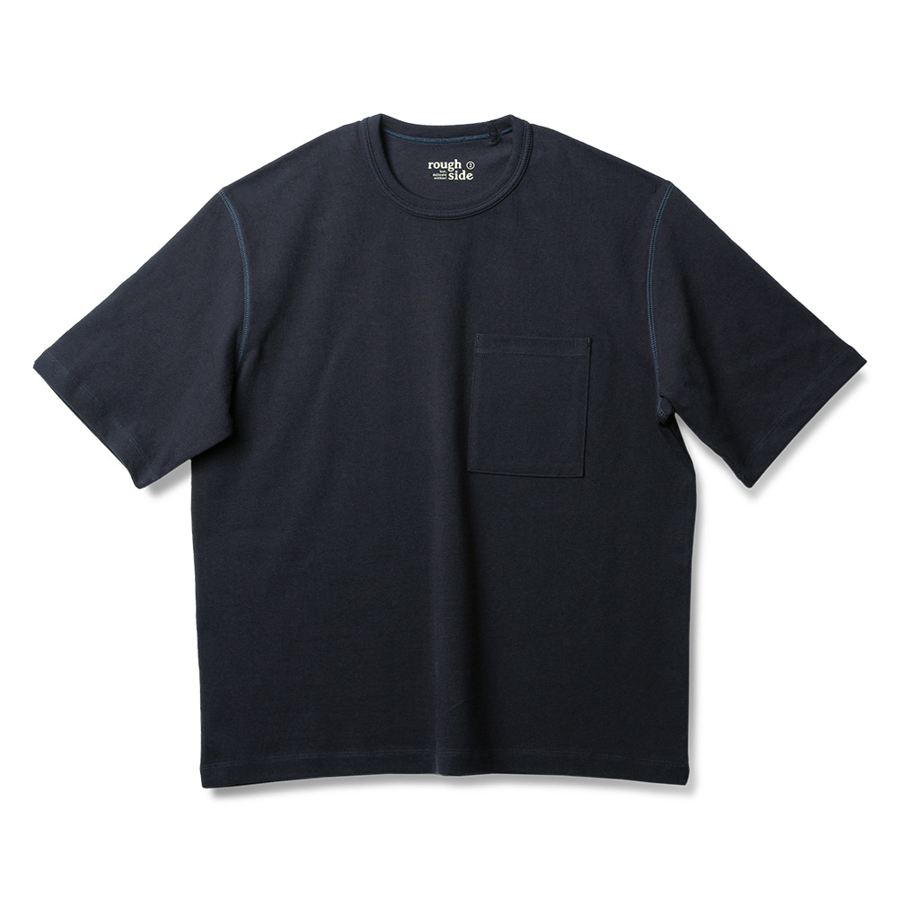 ROUGH SIDERoutine Crewneck(Navy)