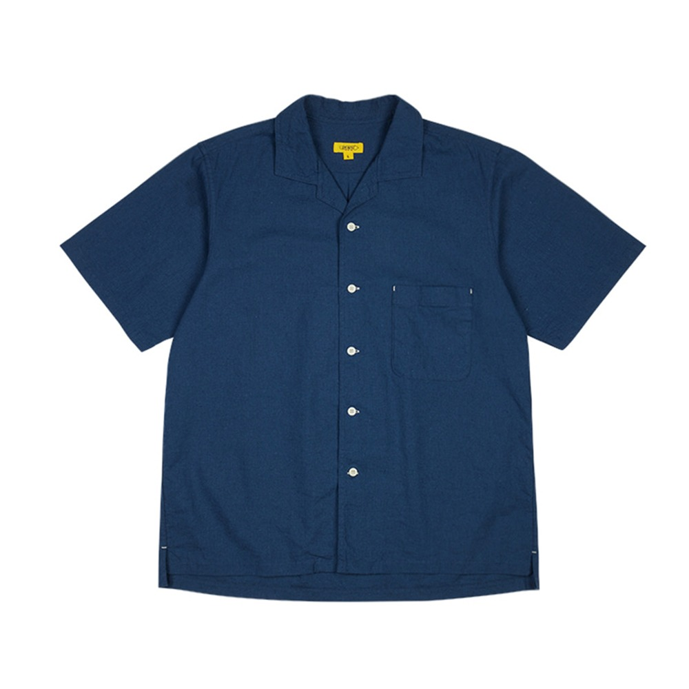 THE RESQ & COSeokia Papa Shirt(Sea Blue)