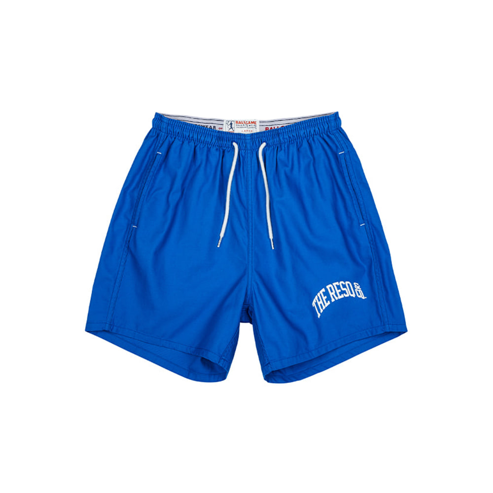 THE RESQ & COBallgame Training Shorts(Blue)