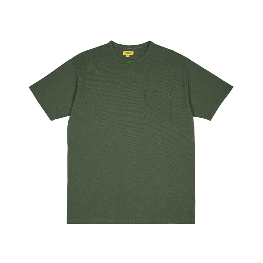 THE RESQ & COPocket Tee(Moss Green)