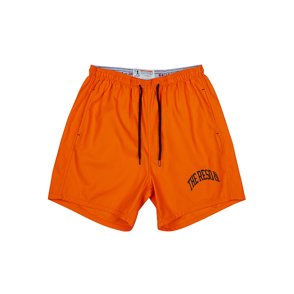 THE RESQ & COBallgame Training Shorts(Orange)