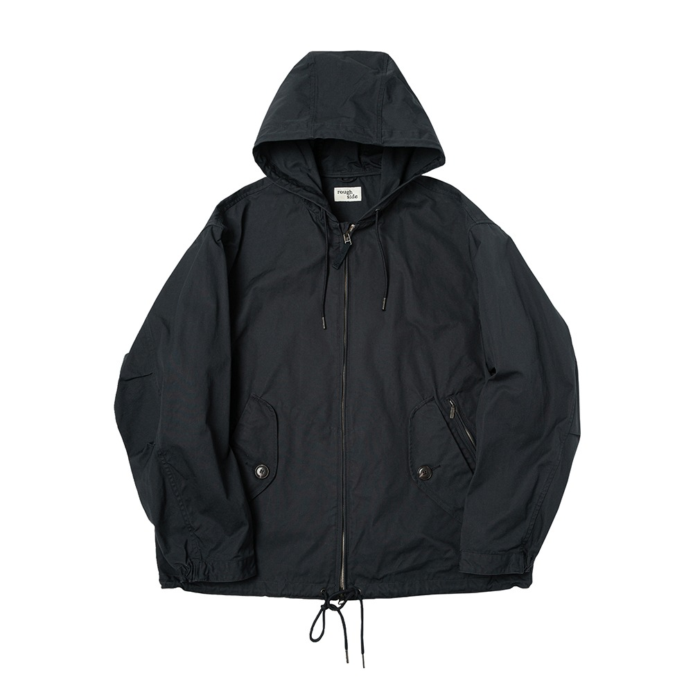 ROUGH SIDE*PREORDER*309.Hill Parka (Navy)