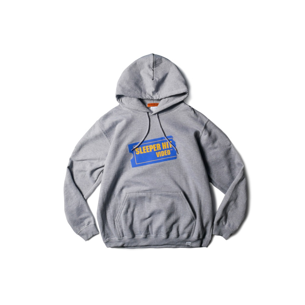 SLEEPER HIT VIDEOS.H.V. Ticket Logo Hoodie(Gray)