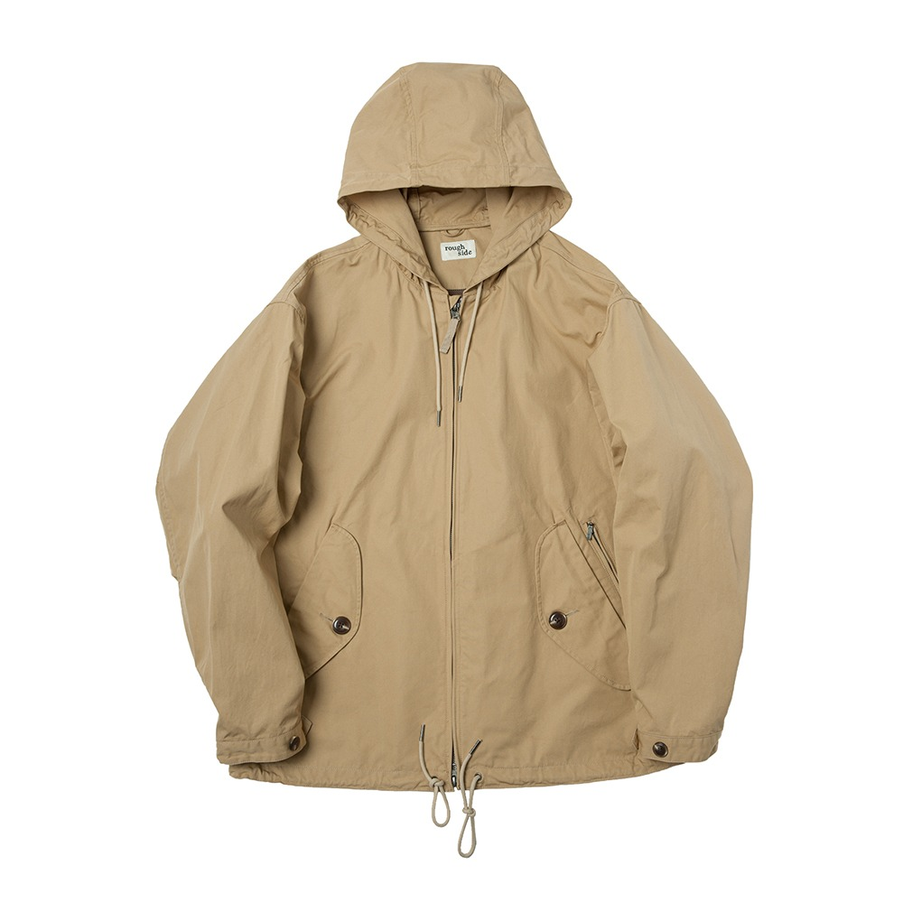 ROUGH SIDE*PREORDER*309.Hill Parka (Beige)