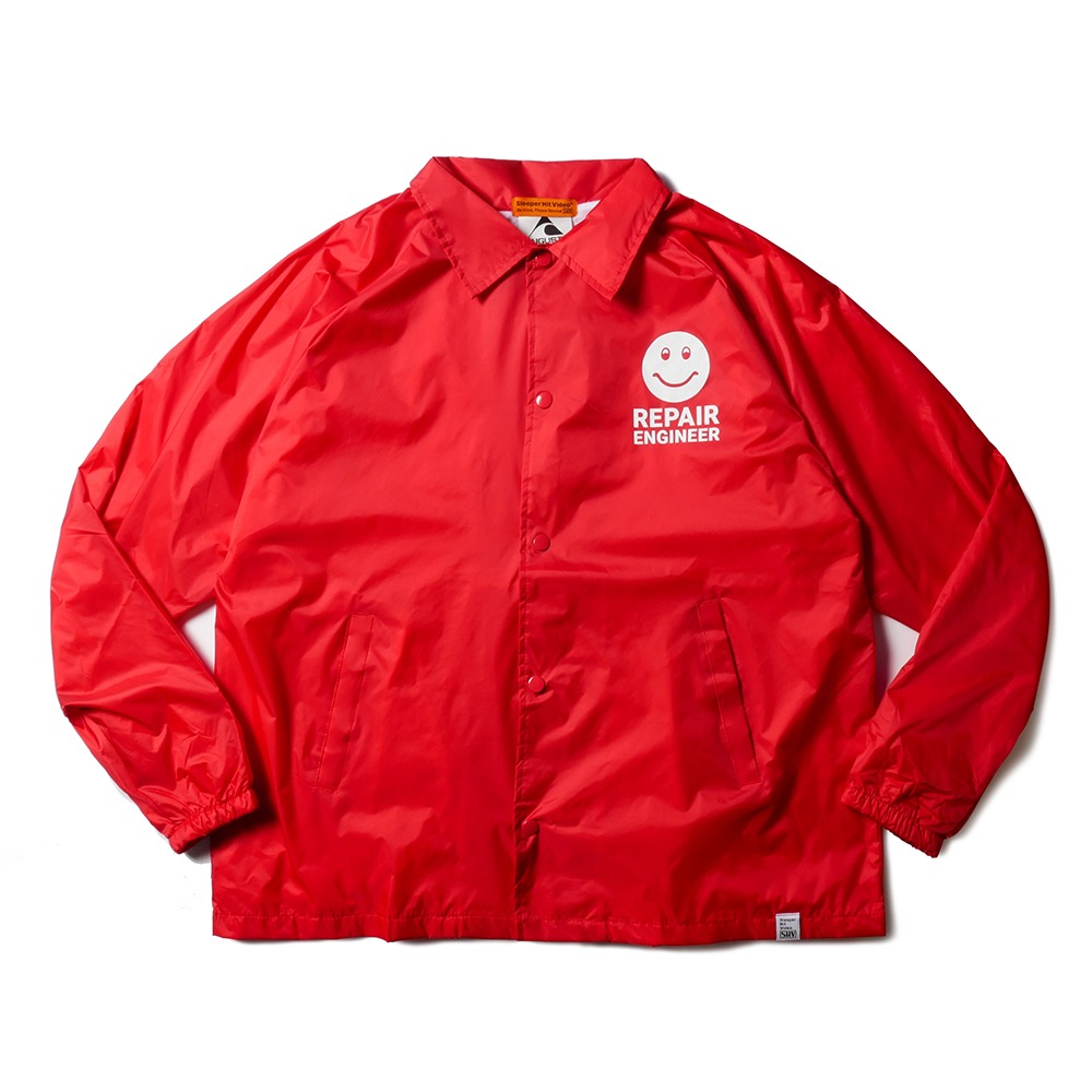 SLEEPER HIT VIDEOS.H.V. Repair Team Jacket(Red)