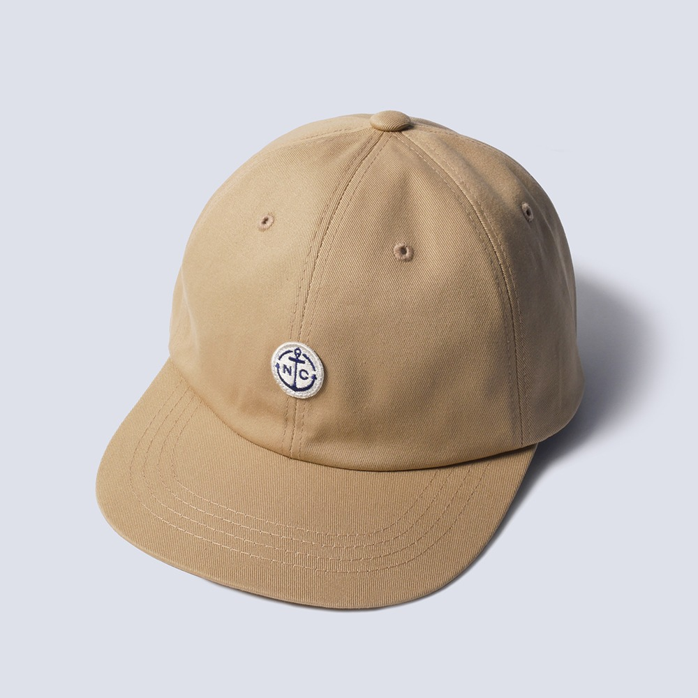 NAMER CLOTHINGAnchor Ball Cap(Beige)