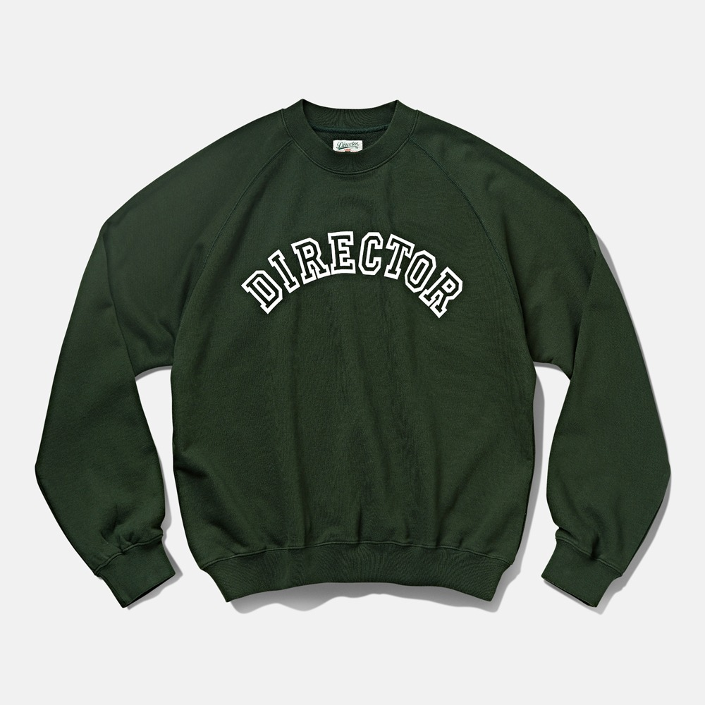DEUTERODTR1951 DTRO + AFST Director Sweat Shirts(Forest Green)