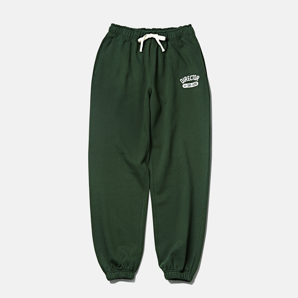 DEUTERO*RESTOCK*DTR1953Director Sweat Pants(Forest Green)