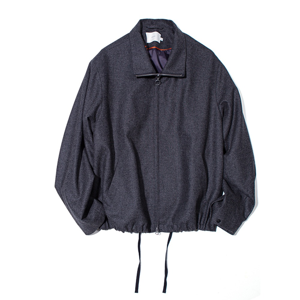 OUR SELVESFine Wool Realxed Blouson(Charcoal)