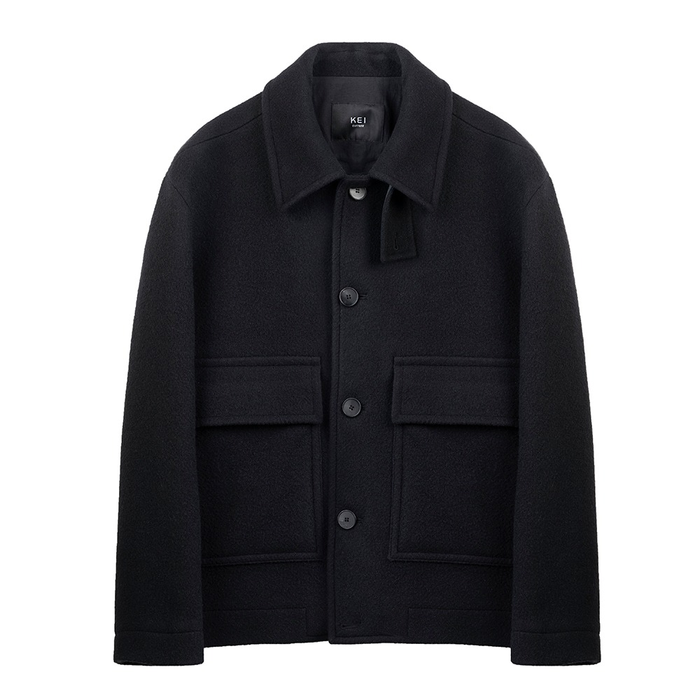 KEI CURRENTSan M Coat(Black)20% Off