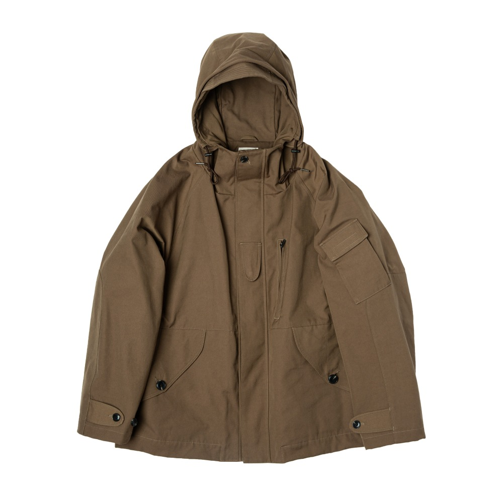 ROUGH SIDE308. Rocky Smock Parka(Brown)