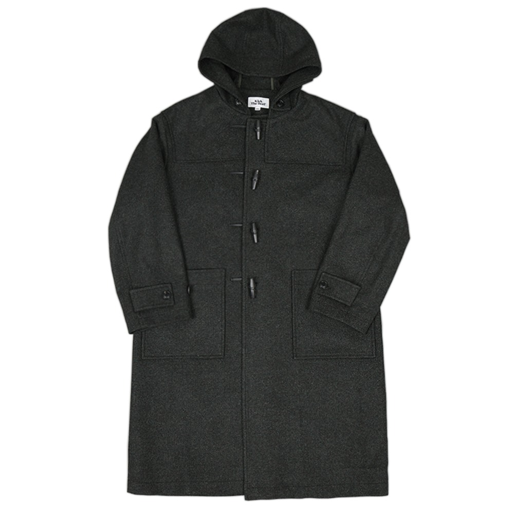 Kick The BeatDuffle Coat(Hunting Green)