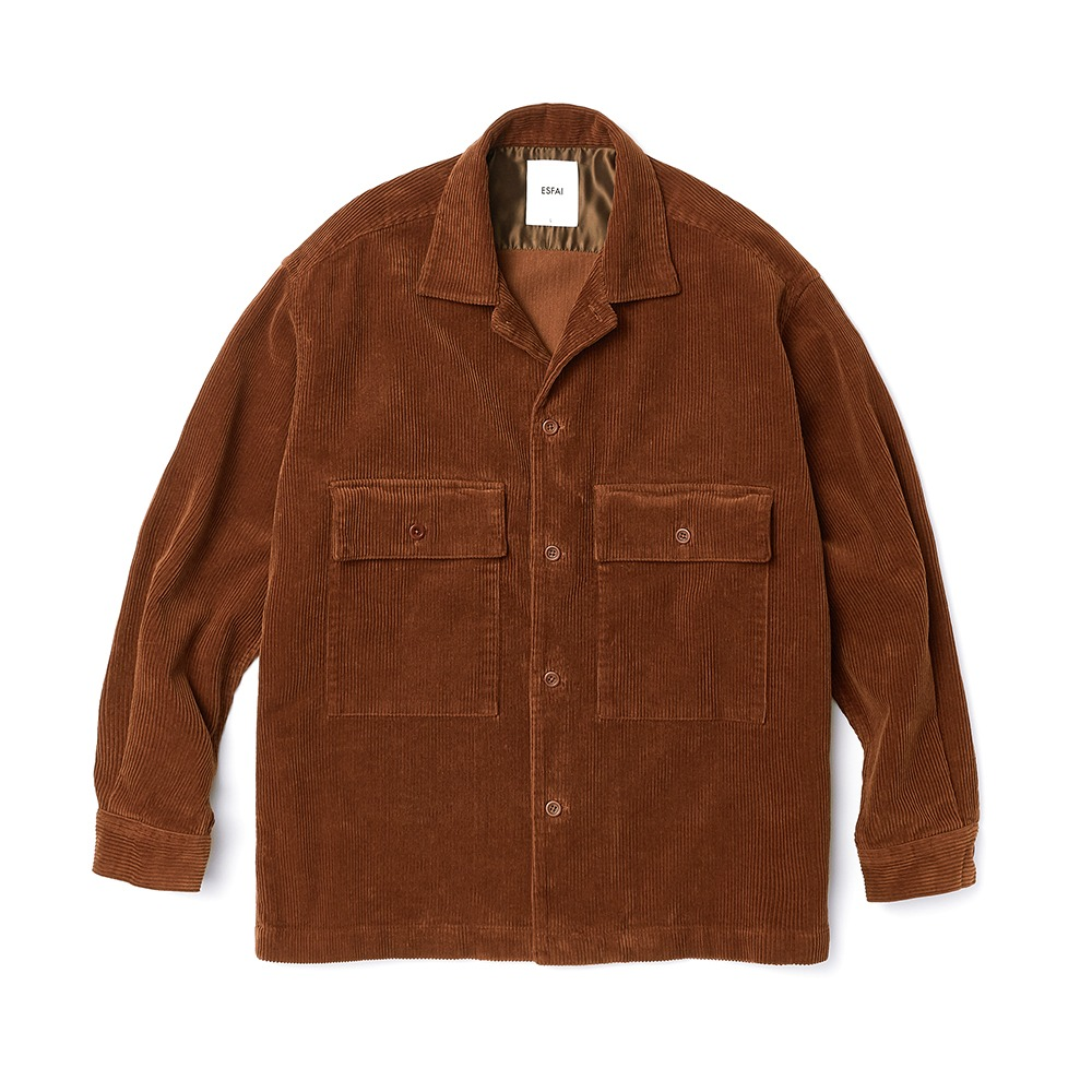 ESFAISO25 Corduroy Set Up Jacket(Brown)