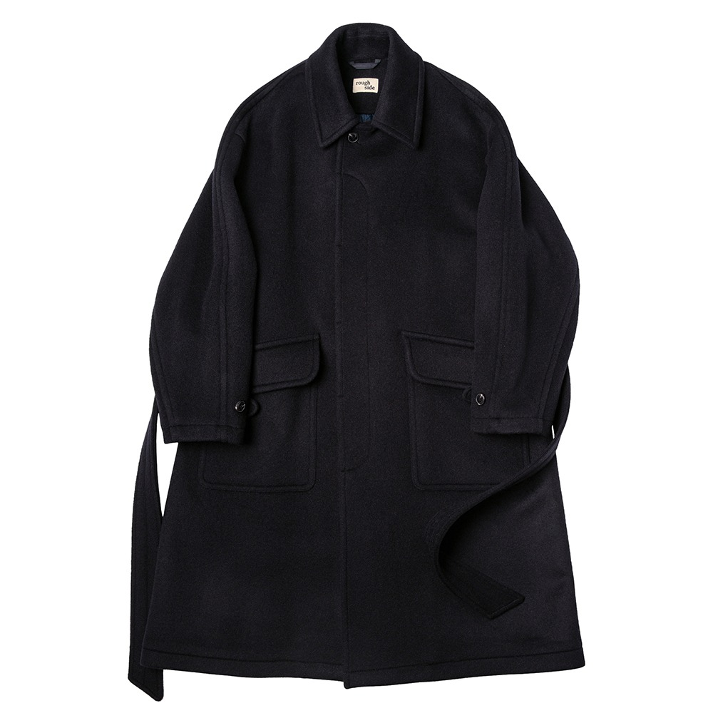 ROUGH SIDE408. Rover Coat(Dark Navy)