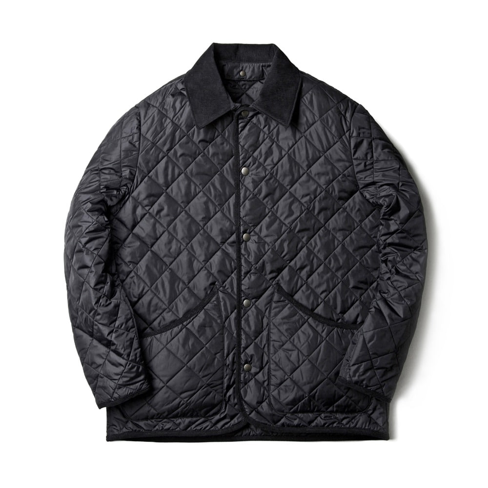 ESFAIDiamond Quilted Jacket(Black)