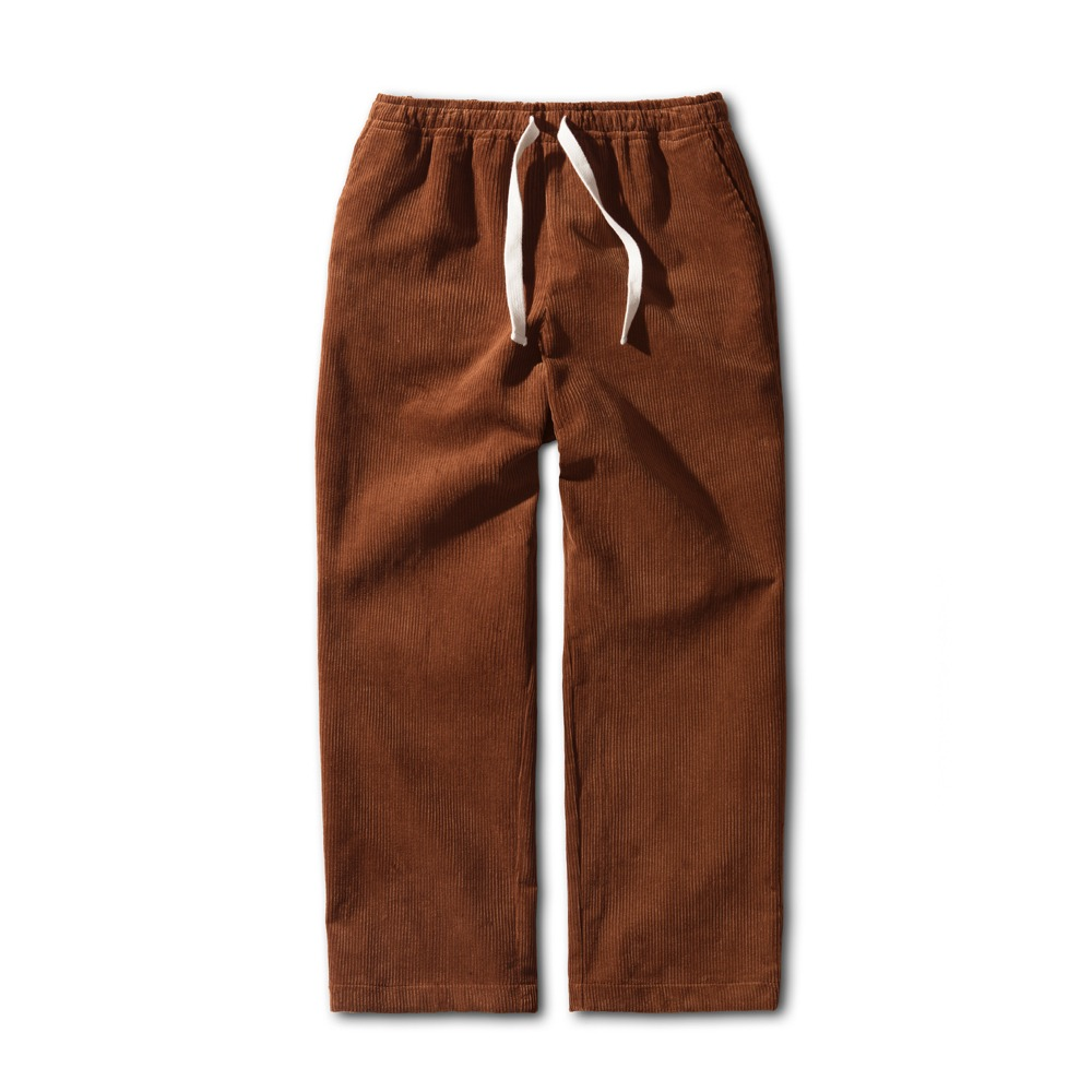 ESFAISN10 Corduroy Set Up Pants(Brown)