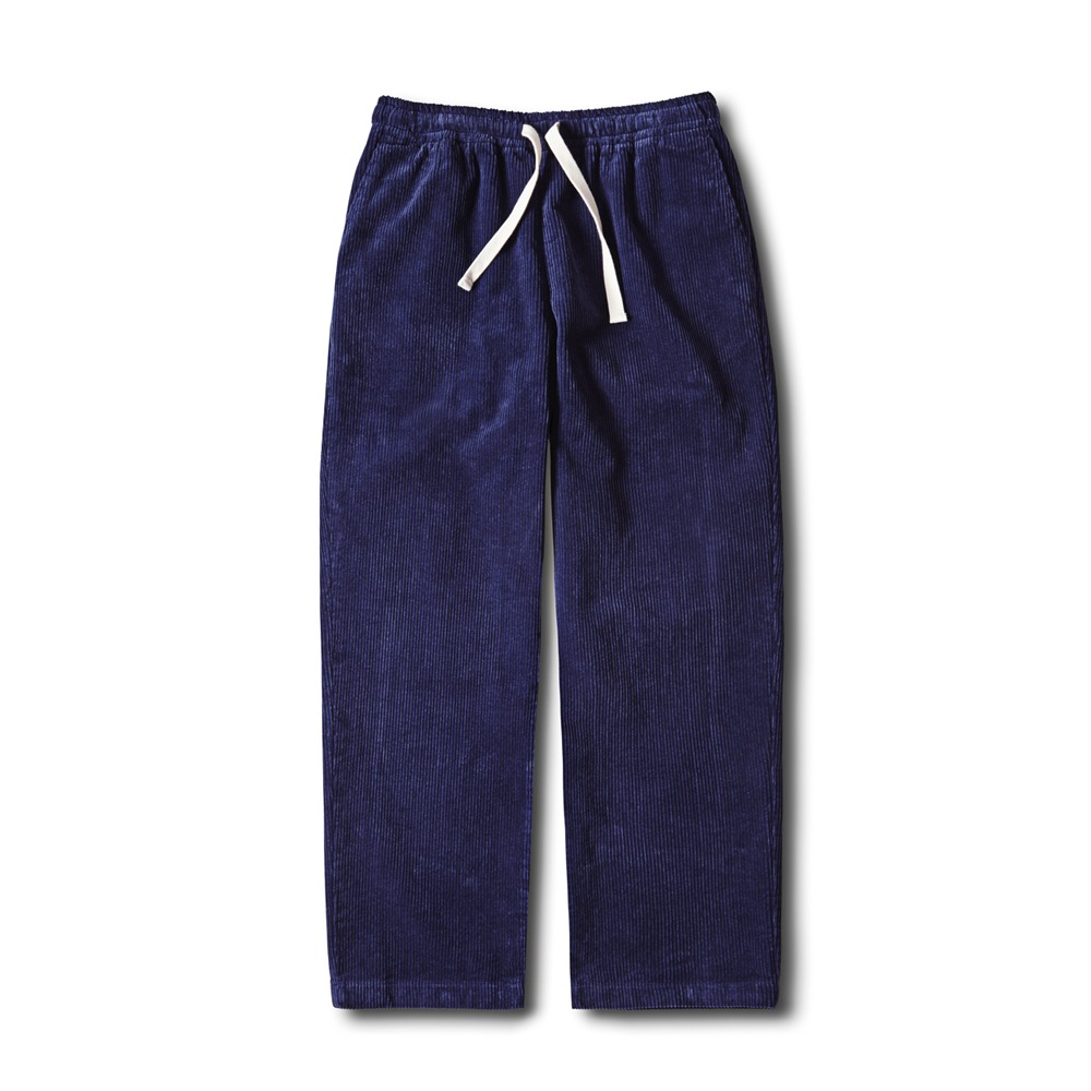 ESFAISN10 Corduroy Set Up PantsForMSK SHOP(Ink Blue)