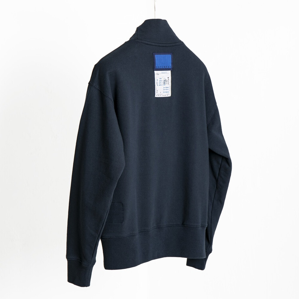 DOCUMENTChristmas Turtle Neck Sweat Jersey(Navy)