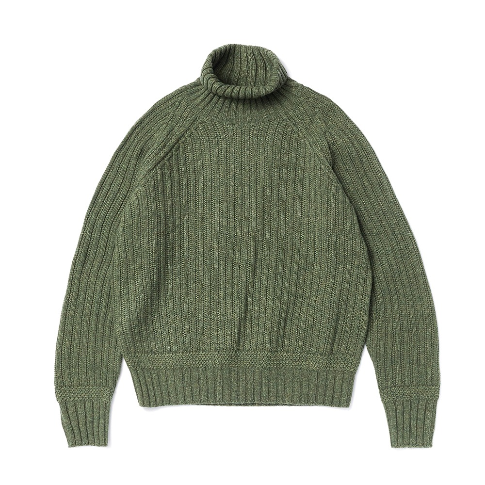 ESFAI X AMFEASTUnisex Fisherman KnitForMSK SHOP(Forest Green)