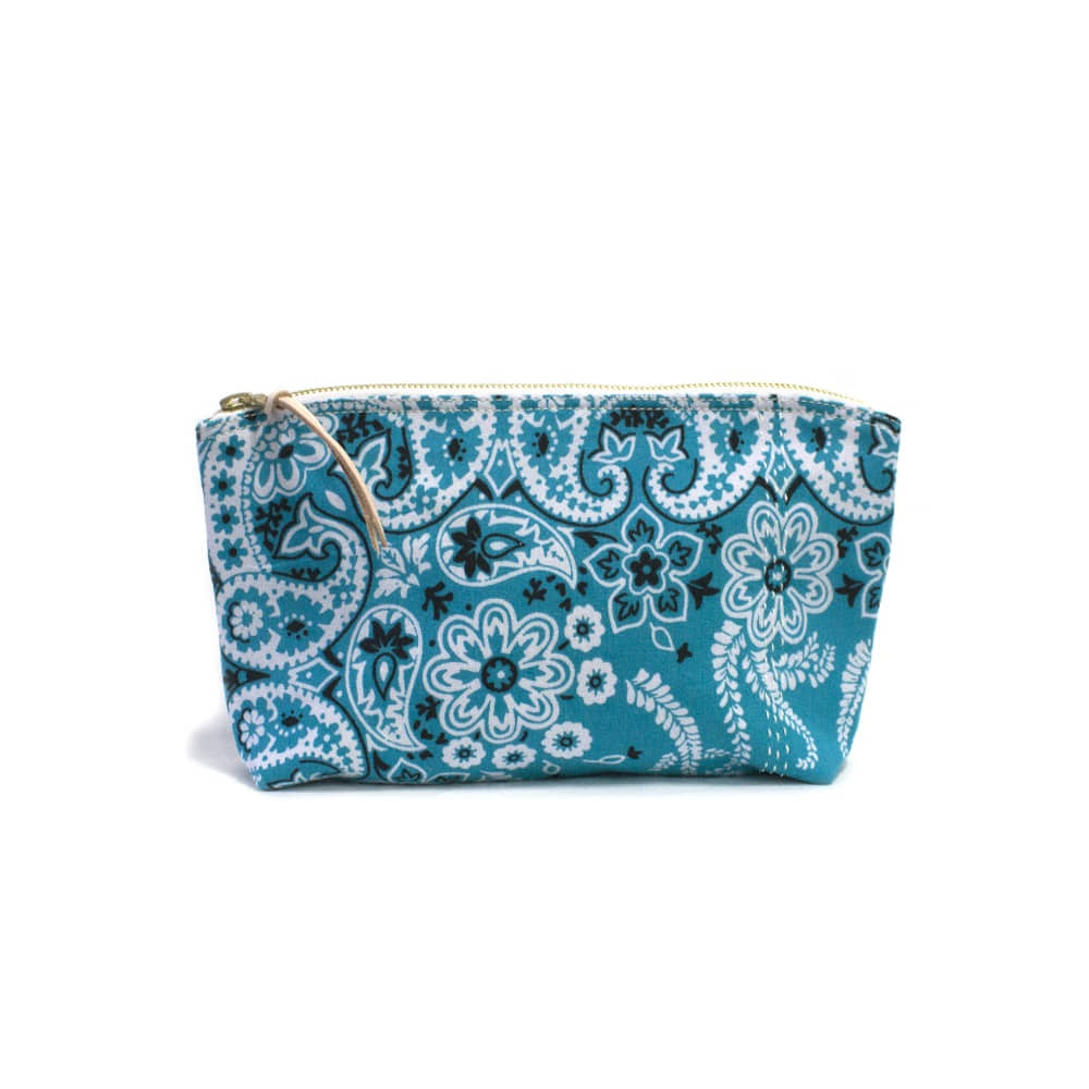 CACTUS SEWING CLUBUtility Pouch Size 02(L.Blue)