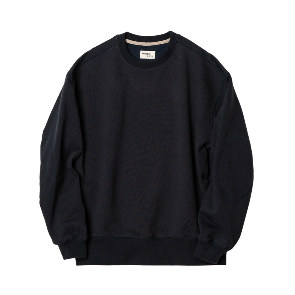 ROUGH SIDE105.Oversized Sweat Shirts(Navy)