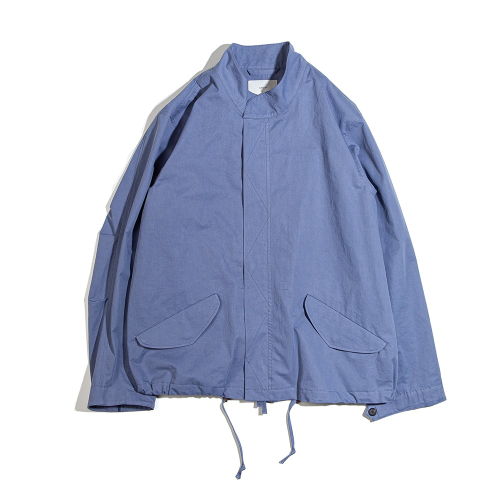 OURSELVESM-65 Fishtail Short Parka(Blue Gray)