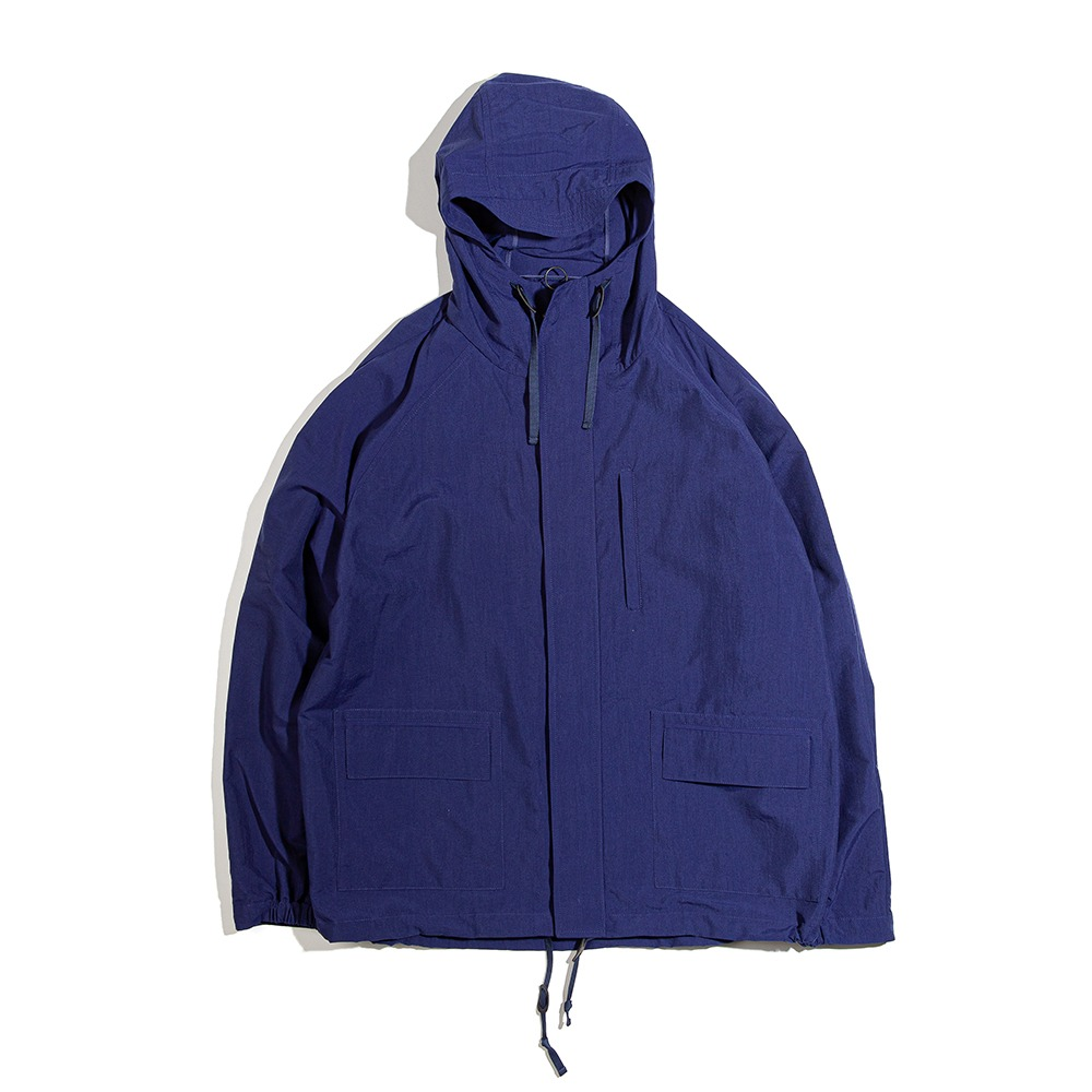 OURSELVESNylon Dyed Mountain Jacket(Midnight Blue)