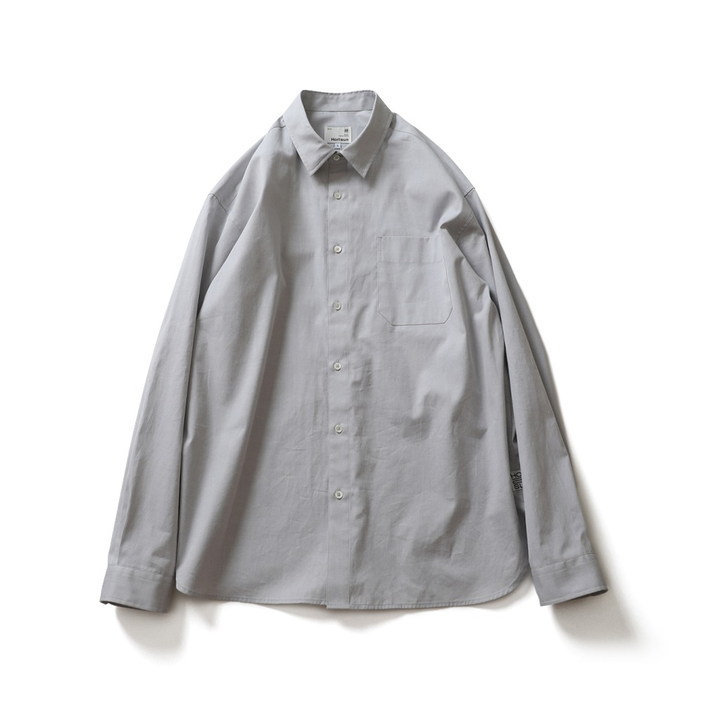 HORLISUNJane Silky Oxford Shirts(Grey)
