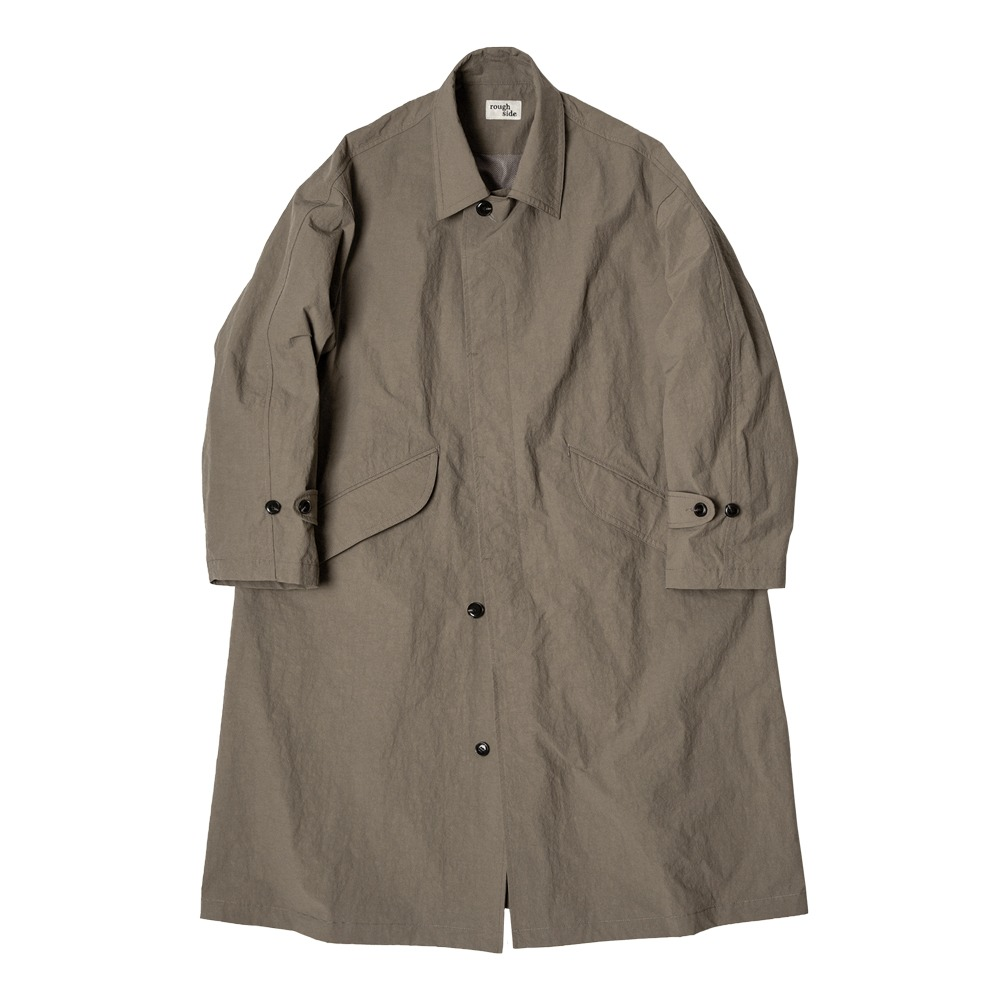 ROUGH SIDEDrizzle Coat(Khaki)