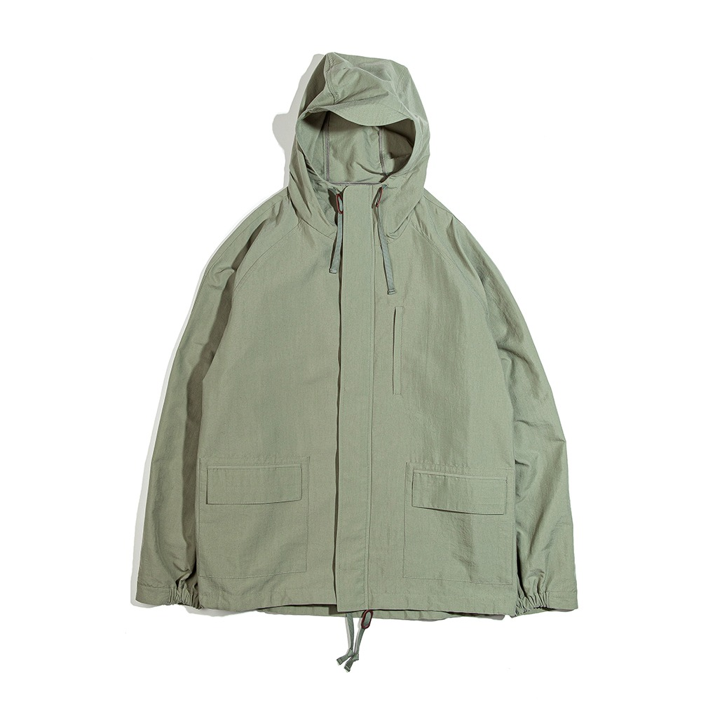 OURSELVESNylon Dyed Mountain Jacket(Sage)