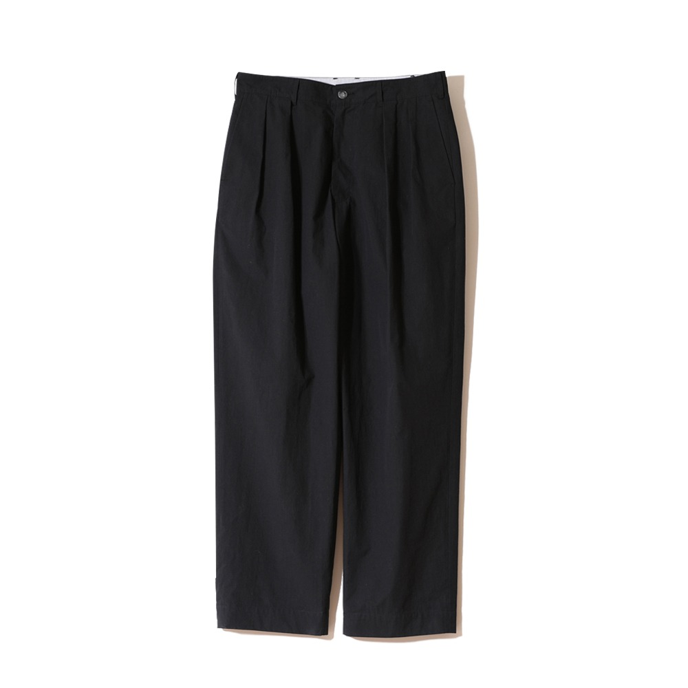 HORLISUNCorinth Typewriter Water Repellent Wide Pants (Black)