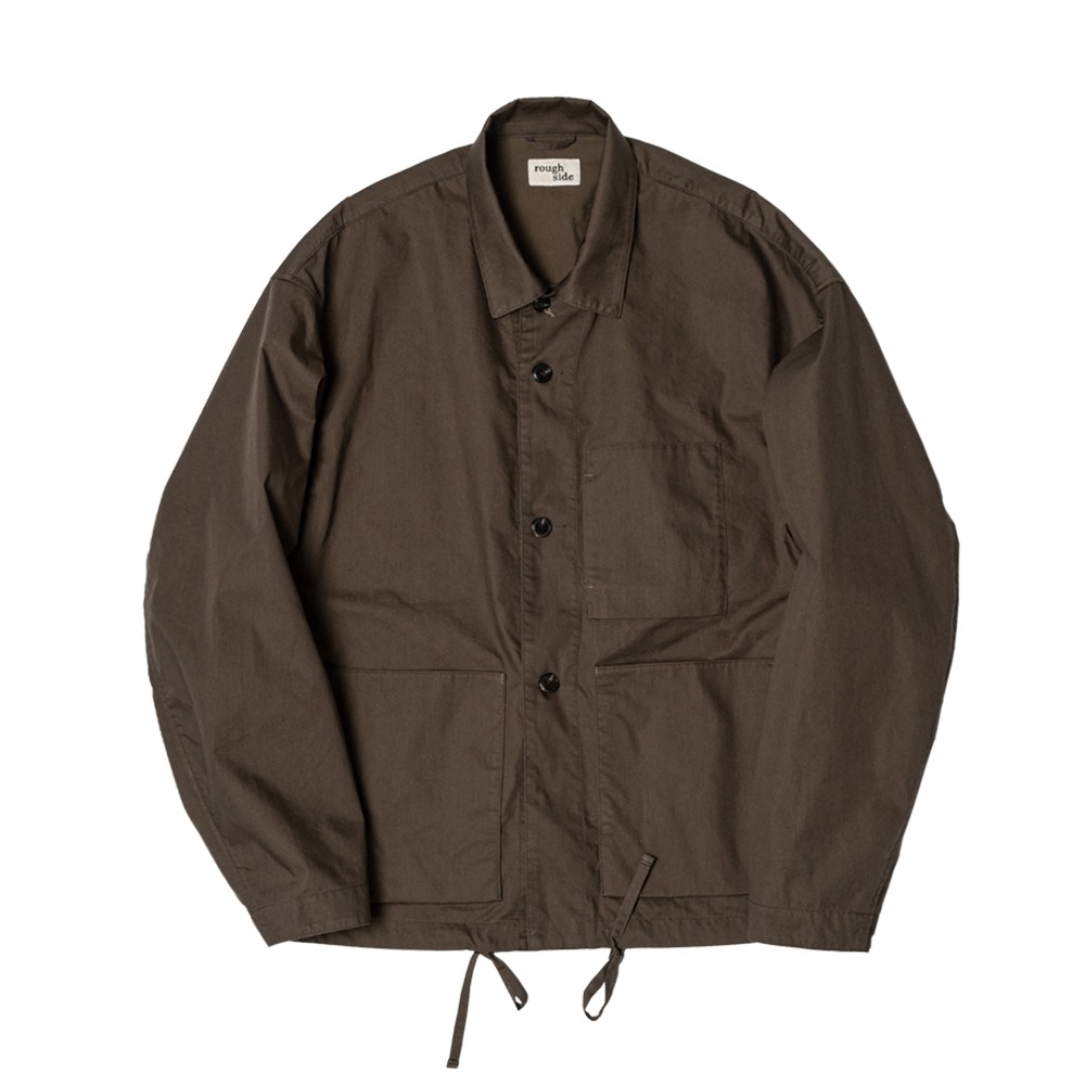 ROUGH SIDEComfort Jacket (Chocolate)