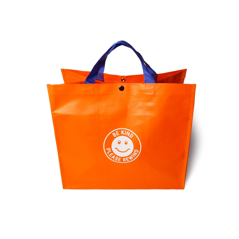 SLEEPER HIT VIDEOS.H.V. Tarpaulin Bag(Orange)