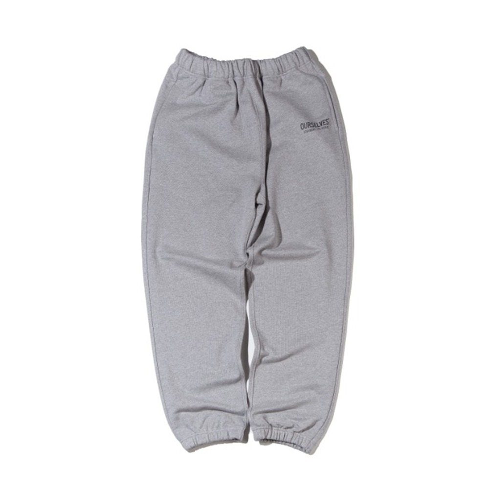 OURSELVESLogo Play Sweat Pants(Melange/Oatmeal)