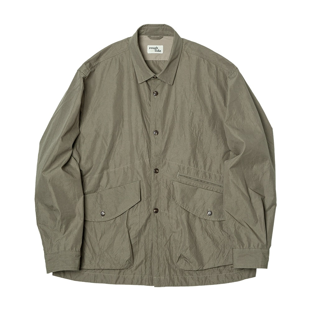 ROUGH SIDECrease Jacket(Khaki)