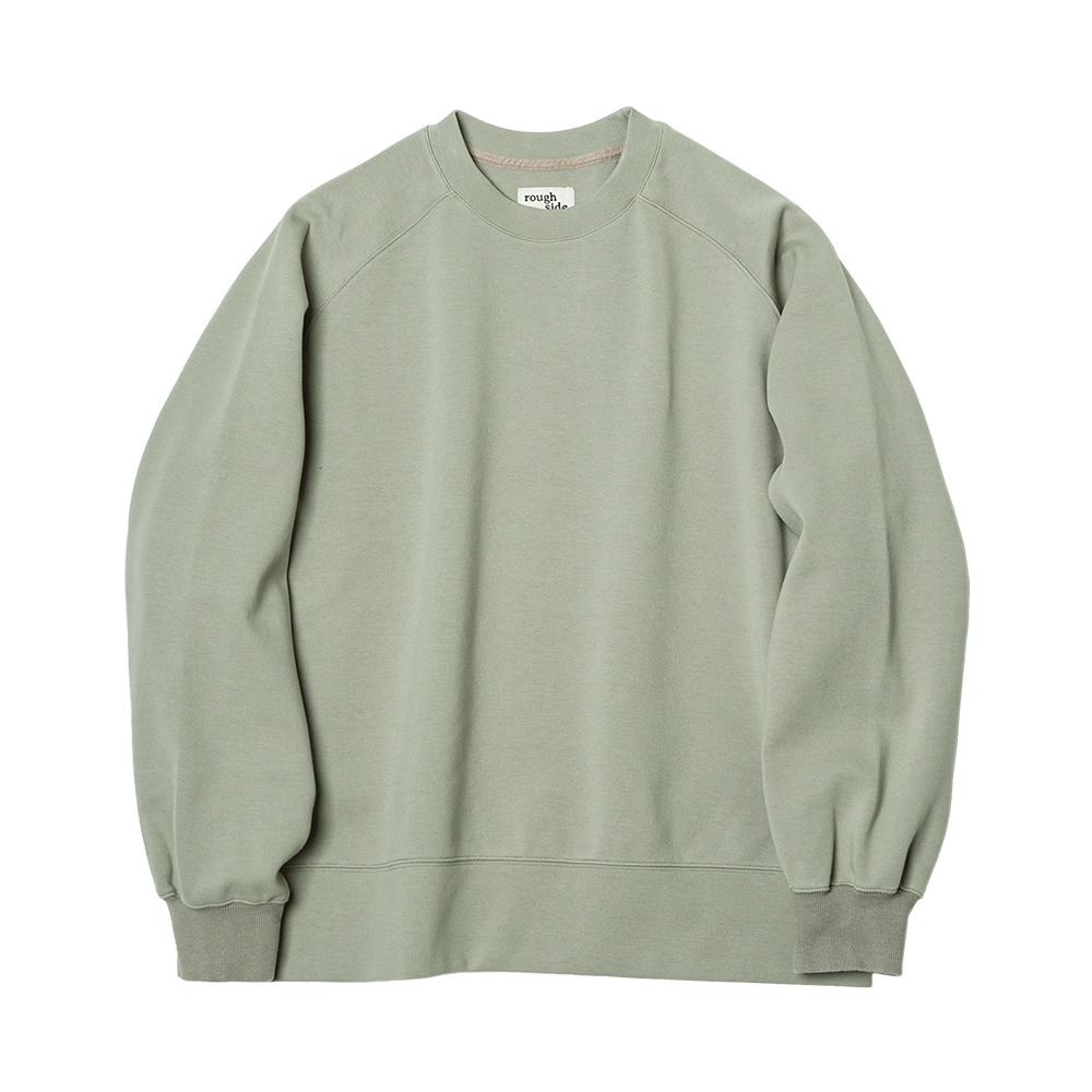 ROUGH SIDERaglan Sweat Shirt(Sage)