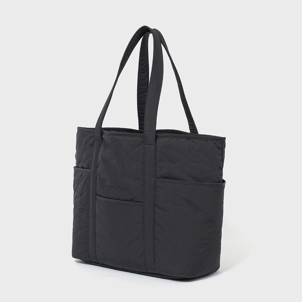 MAZI UNTITLEDNylon Cafe Tote(Grey)
