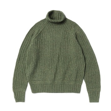 ESFAI X AMFEASTUnisex Fisherman Knit(Forest Green)ForMSK SHOP