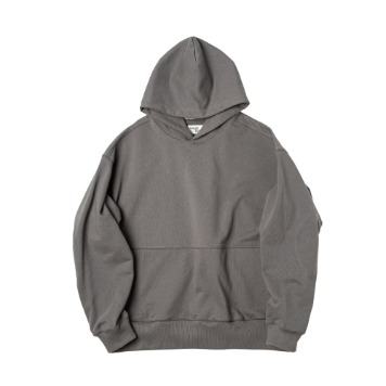 ROUGH SIDE111.Oversized Hoodie(Charcoal)