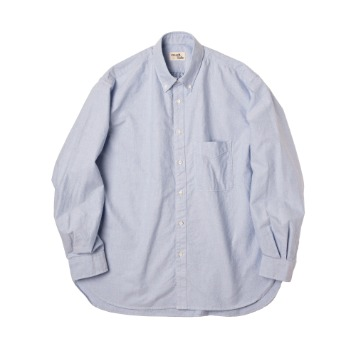 ROUGH SIDE110. Oxford Shirt(Sky Blue)