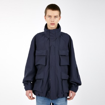 AFTER PRAYMomentum Military Shell Parka(Navy)